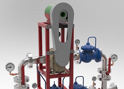Vodeni turbinski generator