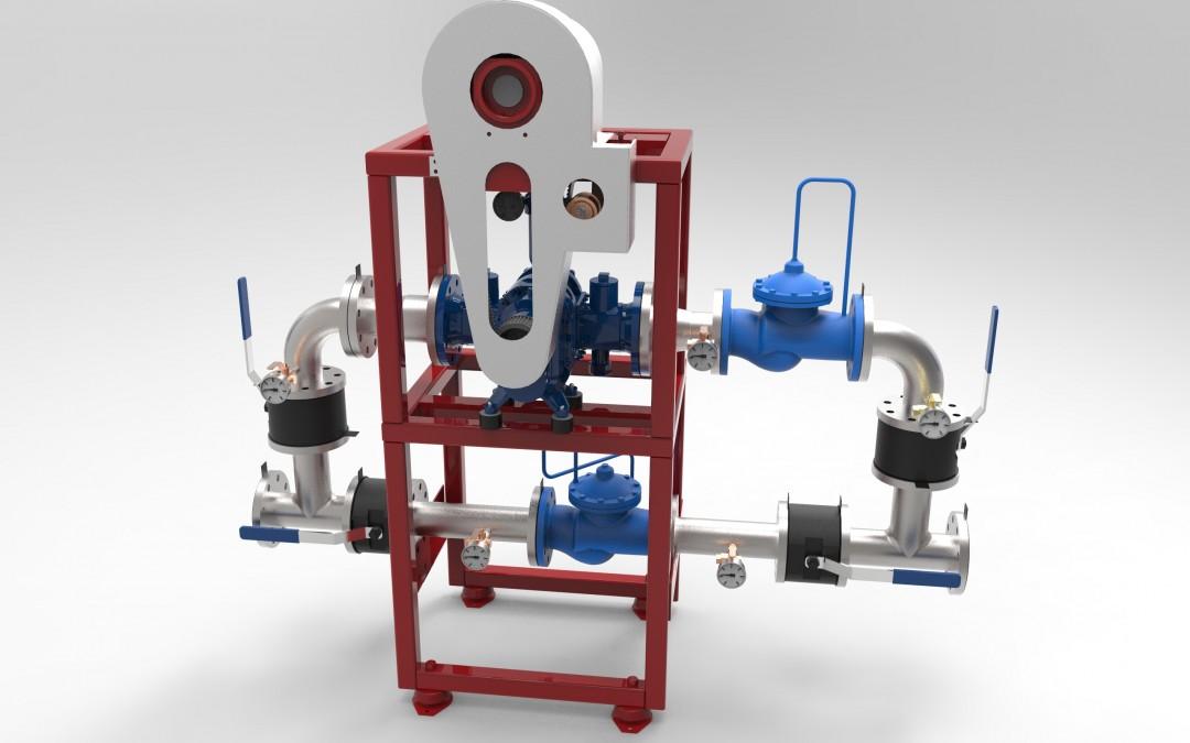 Druga generacija vodenog mikro generatora snage 3kW