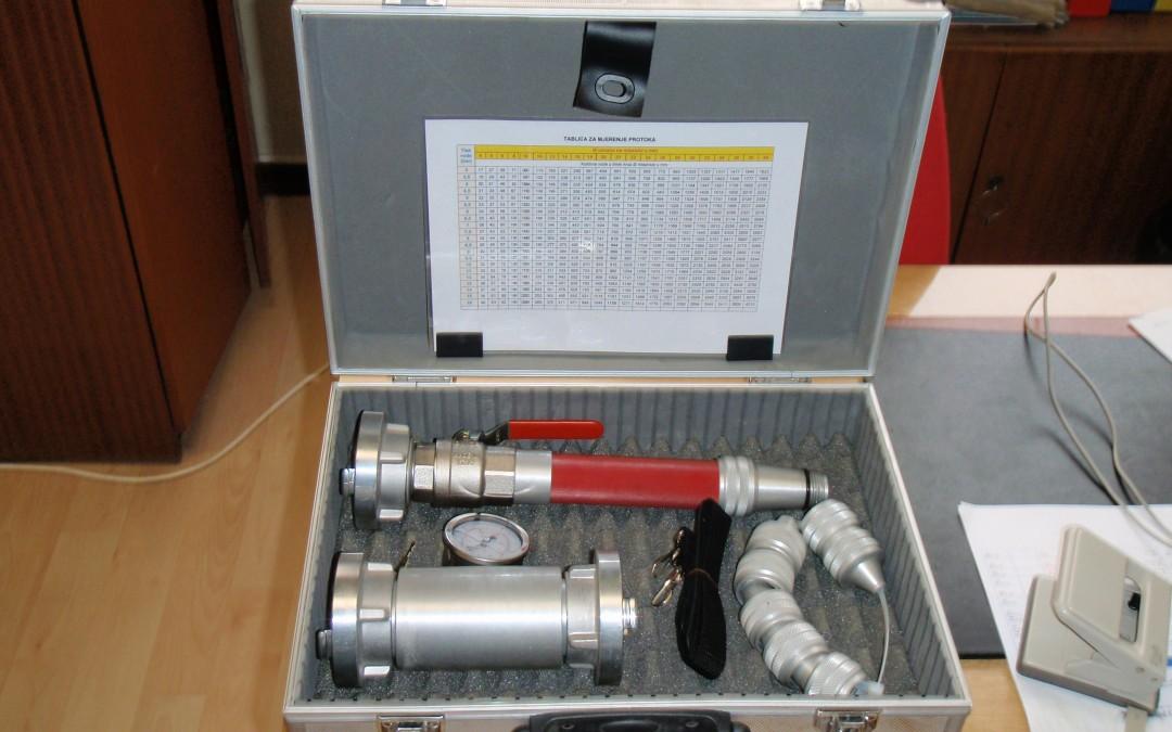 Komplet za mjerenje protoka